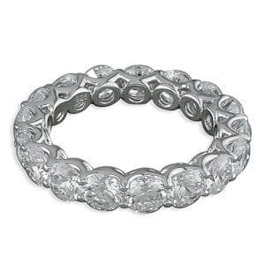 CZ 360 Silver Ring